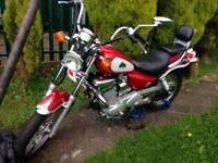SYM husky 1999 125cc motorbike