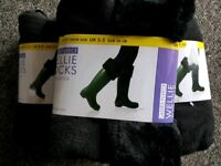 **£6** 3 Pairs of ladies Wellie Socks Size 2-5