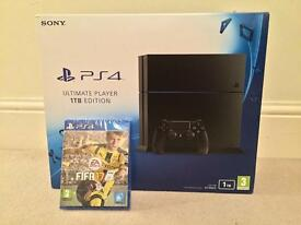 SONY PS4 ULTIMATE PLAYER 1TB EDITION + FIFA 17 NOW £235