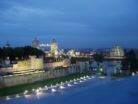Gorgeous penthouse overlooking the Tower of London