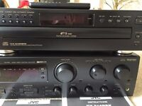 JVC Compact Disc Automatic Changer & Audio/Video Control Receiver