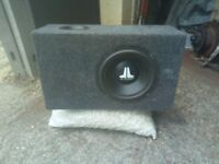 JL Audio car subwoofer speaker