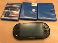 Immaculate PS vita with games