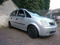 Vauxhall MERIVA 2005, 1.7 CDTI Diesel