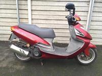 Daelim 125cc moped Yamaha Honda Piaggio Vespa