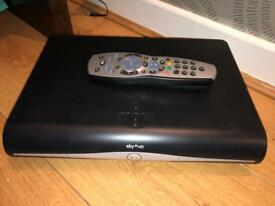 Sky HD box with remote and dish