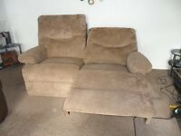two and three seater recliner very good condition