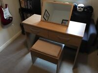 Mint Condition Dressing Table w/ Stool and Mirror