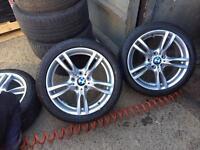 BMW 18 inch 400m alloys