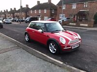2003 Red Mini Cooper One 1.6, Full Service History, Long MOT, 2 Keys, Petrol, Manual, 75k Miles