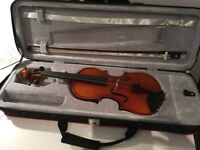 Violin 1/2 size (Hidersine) excellent condition