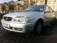2001 Toyota Corolla 1.4 VVTi GS 5dr Hatch, EXCELLENT CONDITION , GOOD MOT , FULL TOYOTA S/H,