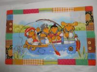 WOMBLES single duvet cover and one pillow case Very Good Condition £5 Ammanford, Carmarthenshire