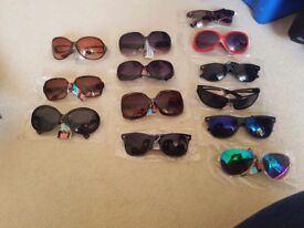 Brand new sunglasses with tags.