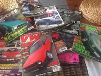 2 Box full of vintage Car magazines