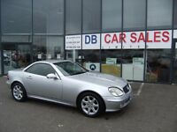 AUTOMATIC !! 2003 03 MERCEDES-BENZ SLK 3.2 SLK320 2D 218 BHP **** GUARANTEED FINANCE**** PART EX WEL