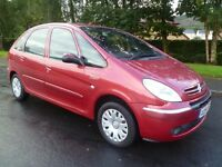 2004 54 Citroen Picasso 1.6 Petrol. Brand New M.O.T. Lovely Condition. PX Possible.