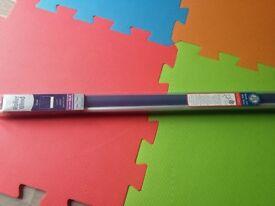 Brand new in box, Navy blue roller blind, 90cm (width)by 170 cm (drop)