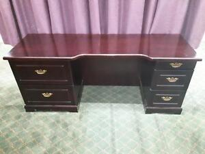 CHOICE OF DESKS, WING BACK CHAIRS, COFFEE TABLES, NIGHT STANDS AND LAMPS ON SALE  @ SOURCE LIQUIDATIONS!