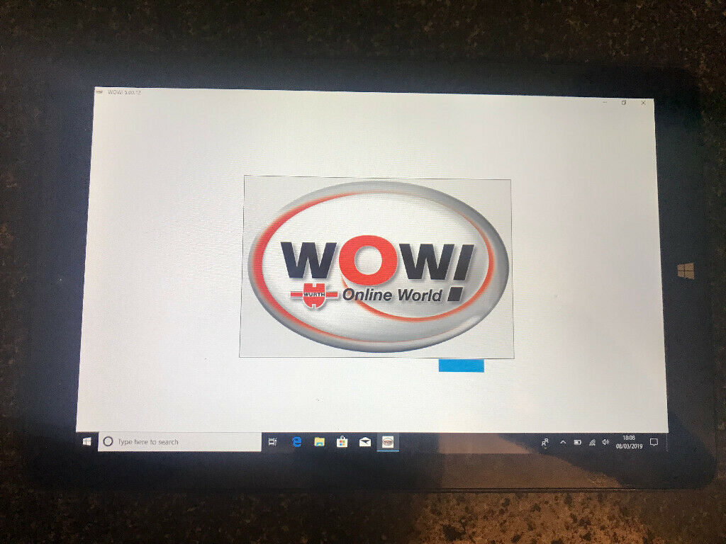 Windows Touch Screen Diagnostic Fault Code Tablet WoW Wurth Garage Dealer  Level Delphi Obd | in Nottingham, Nottinghamshire | Gumtree