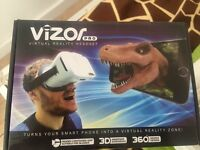 Vizor Pro Virtual Reality Headset brand new