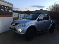 2015 Mitsubishi l200 barbarian black edn model top spec Finance available other pick ups in stock