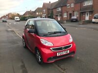 2013 semi-auto smart car 12 months MOT 34k FREE tax