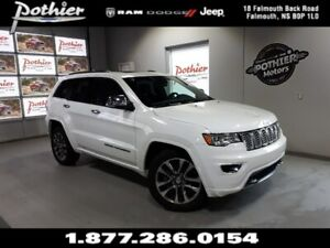 2018 Jeep Grand Cherokee Overland   LEATHER   8.4 TOUCHSCREEN  