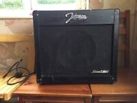 Johnson blue line 30r amp used 75w input power cums with power lead alphatone speaker