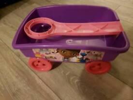 Kids toy trailer