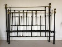 Victorian Brass Bed for sale