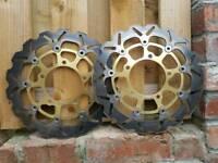 Gsxr1000k6 wavy discs