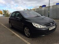 2004 Peugeot 307 hdi, 1 owner, 2 keys, long mot, Bargain