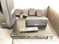 Panasonic sound system dvd cd fm hdmi 3.5 jack in for mp3 pc