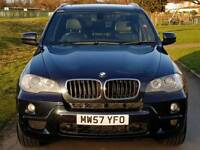 BMW X5 7 SEATER M SPORT PANORAMIC GLASS ROOF 77k miles FULL BMW SERVICE HISTORY CAT D 2 KRYS