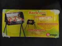 Portable collapsible cast iron barbecue BBQ