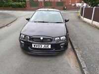 2003 Mg zr 1.8 vvc (160) excellent condition.