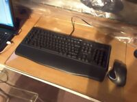 Logitech G110 Gaming Keyboard PC and Logitech Performance MX Wireless Mouse(UK version)