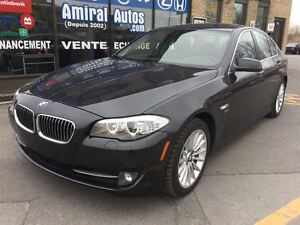 2011 BMW 535I xDrive*TOIT OUVRANT*MAGS*CUIR*TWIN TURBO*AWD