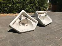 Period Antique Butler Sinks and Taps