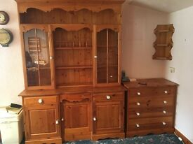 Pine furniture collection - URGENT - MUST GO !!!!!