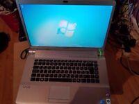 Sony Vaio FW series laptop / 15.6 inch screen/VGN-FW41E