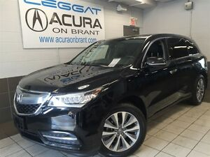2016 Acura MDX TECH   1OWNER   ONLY50000KMS   OFFLEASE   DVD   7