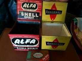 Cigar boxes/tins