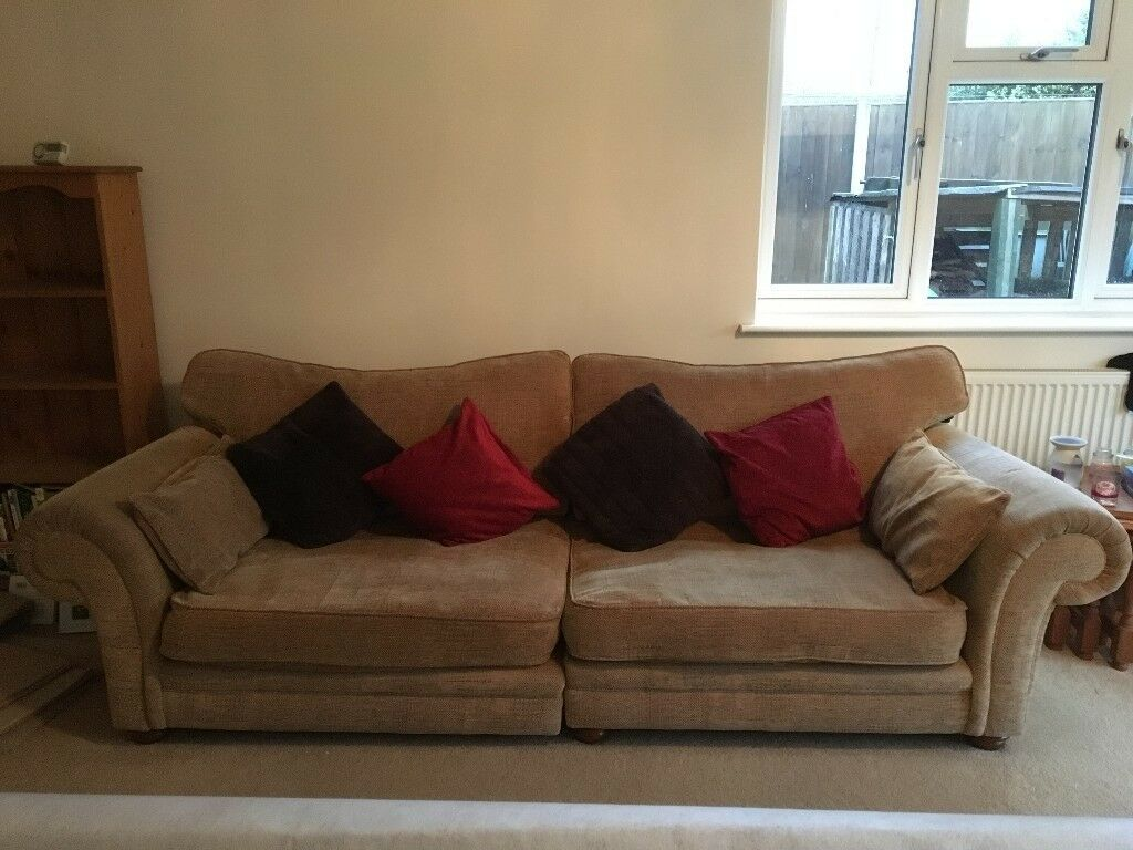 4 Seater Sofa And 2 Matching Chairs In Norwich Norfolk Gumtree ~ Matching Sofa And Chairs