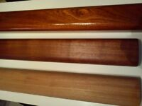 solid hardwood handrail only £10 per metre