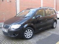 VW TOURAN 1.6 NEW SHAPE 2007 **** 7 SEATER FAMILY MPV **** 5 DOOR HATCHBACK