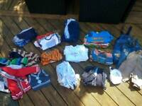 Huge pile of 3-6 month boys clothes