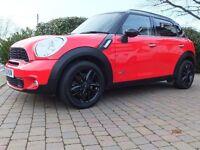 2012 Mini Countryman All4 CooperS Auto, 1.6 Petrol, Chilli Pack, Sat Nav, DAB, FSH, TLC