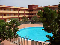 SPAIN HOLIDAY APARTMENT 2 BED £190 2PAX FUERTEVENTURA CANARY ISLANDS SUN BEACH GOLF EATING OUT